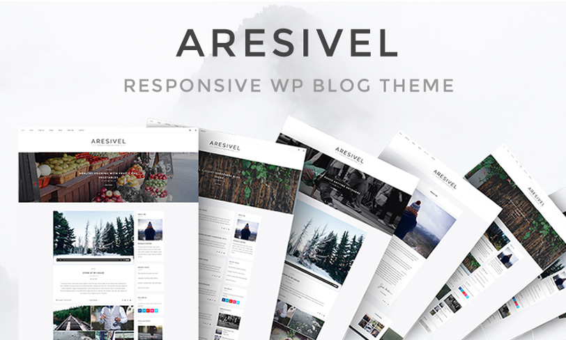 aresivel - free wordpress theme