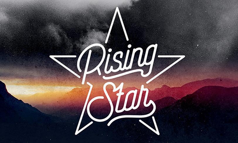 Rising star darmowu font