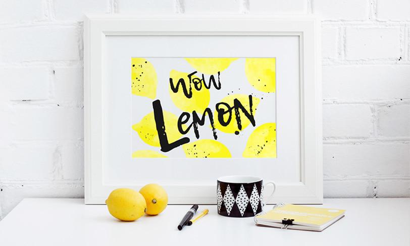 darmowy font lemon tuesday