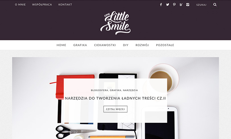 blog one little smile
