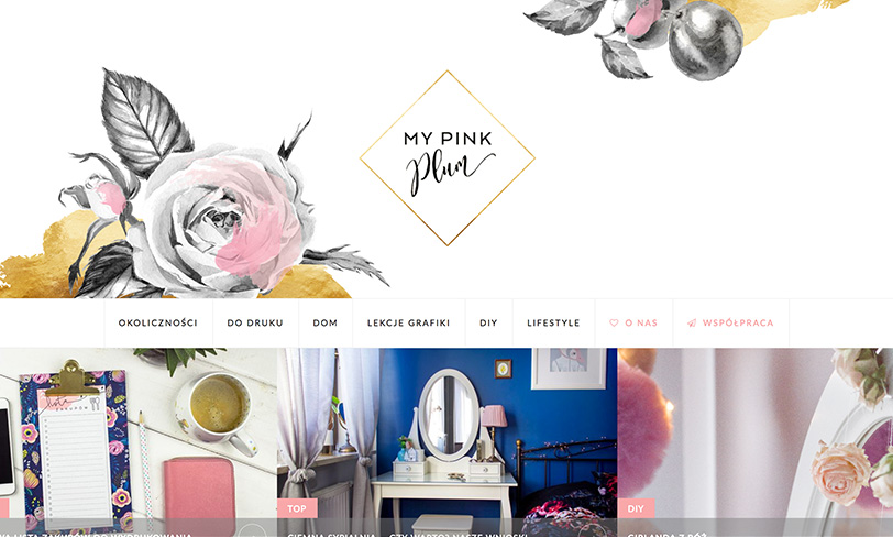 blog my pink plum