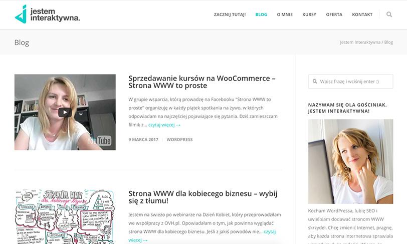 blog jestem interaktywna
