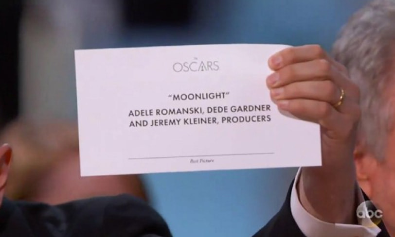 moonlight oscar