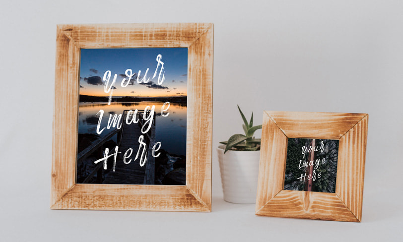 Wood Frame Mockup Kit