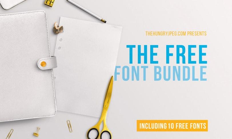 bonus free font bundle