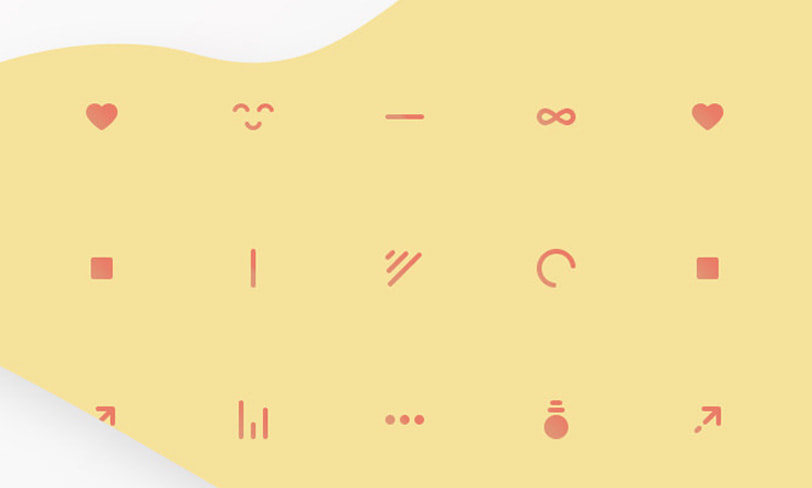 icon pattern set