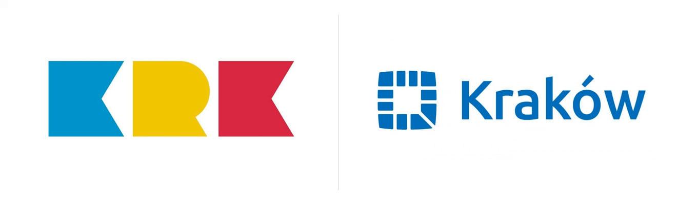 stare i nowe logo krakowa