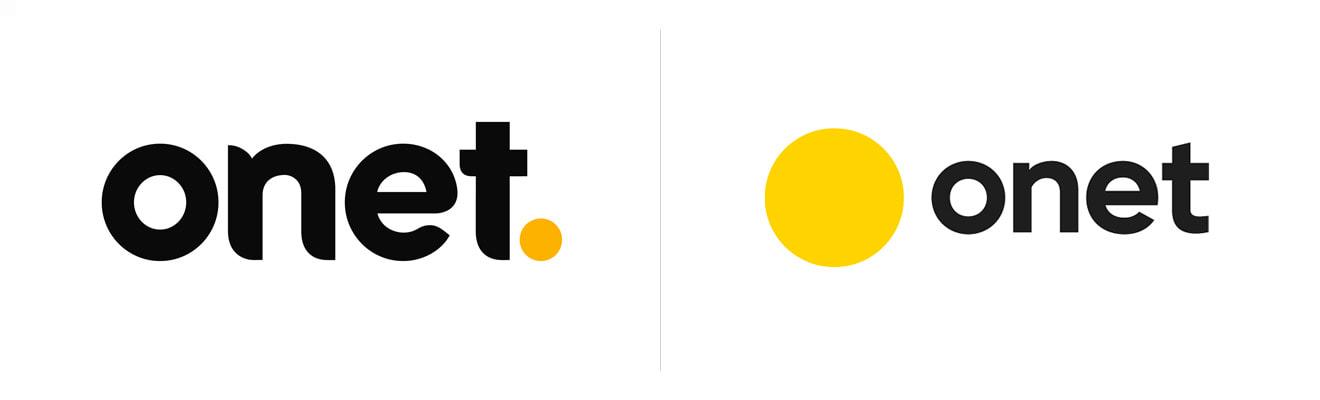 nowe i stare logo onetu