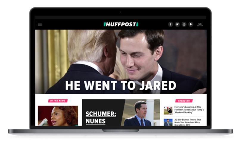 huffpost wygląd nowej strony