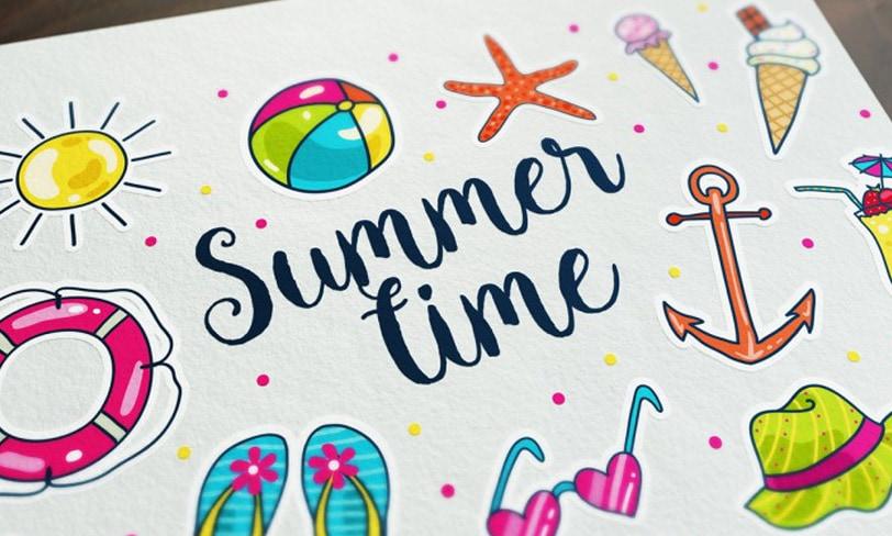 darmowa grafika lato