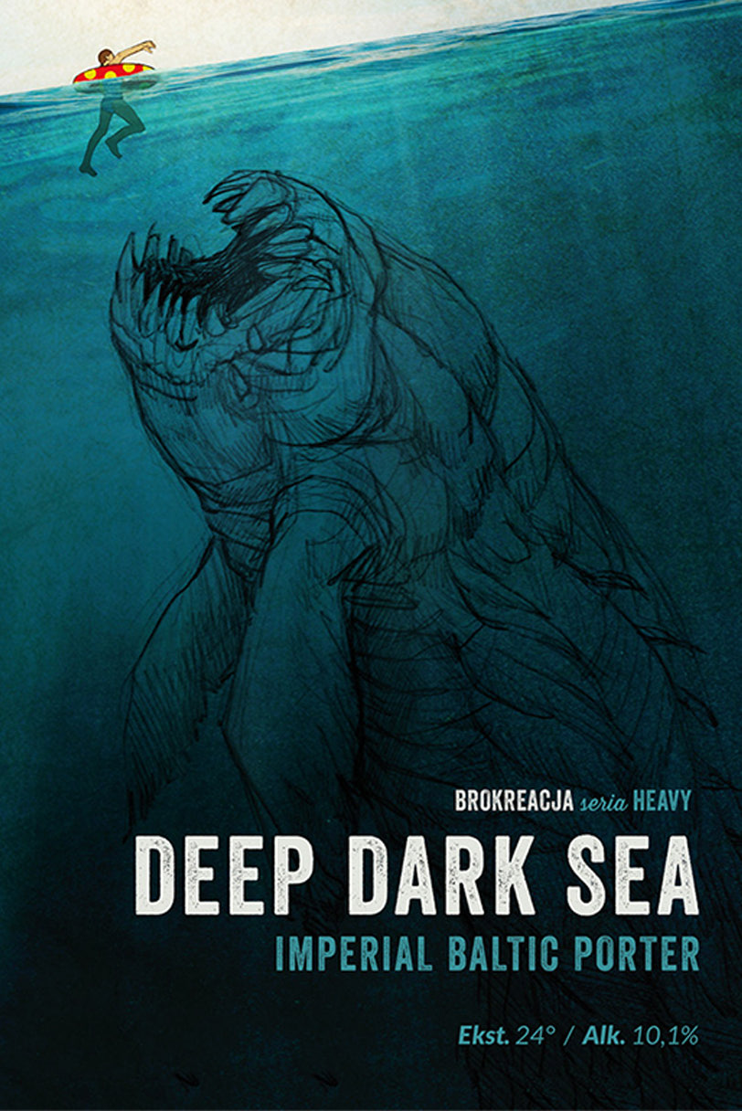deep dark sea